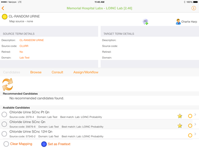 Clinical Architecture Symedical iPad App