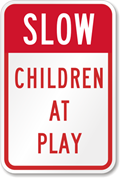 sign-children-at-play